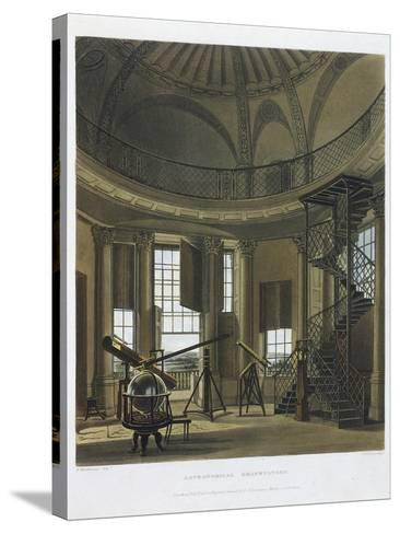 Astronomical Observatory, 1814-james black-Stretched Canvas Print