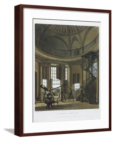 Astronomical Observatory, 1814-james black-Framed Art Print
