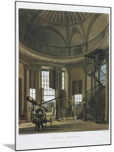 Astronomical Observatory, 1814-james black-Mounted Giclee Print