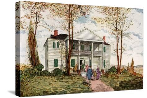 Morris-Jumel Mansion, Washington Heights, C18th Century-James Preston-Stretched Canvas Print