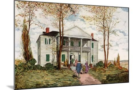 Morris-Jumel Mansion, Washington Heights, C18th Century-James Preston-Mounted Giclee Print