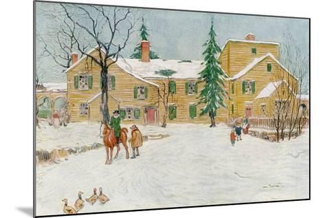 Wentworth Mansion, New Hampshire, USA, C18th Century-James Preston-Mounted Giclee Print