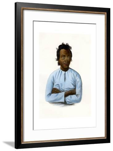 The Malay, C1840-James Prichard-Framed Art Print