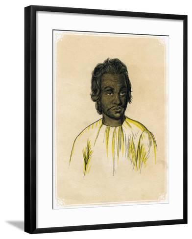 The Malay, C1900-James Prichard-Framed Art Print
