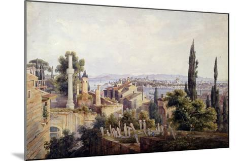 View of Constantinople and the Golden Horn, 1835-Johann Jakob Wolfensberger-Mounted Giclee Print