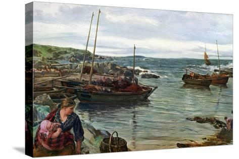 Home with the Tide, 1880-James Clarke Hook-Stretched Canvas Print