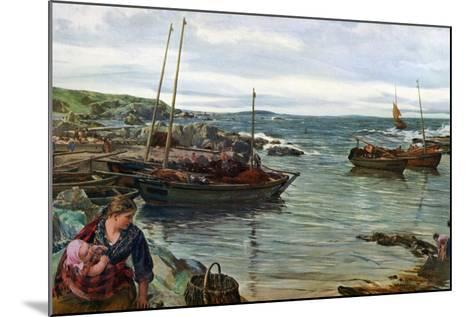 Home with the Tide, 1880-James Clarke Hook-Mounted Giclee Print