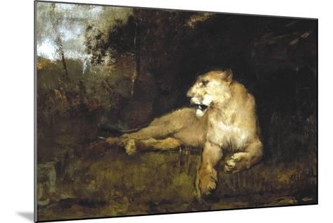 A Lioness, C1867-1910-John Macallan Swan-Mounted Giclee Print
