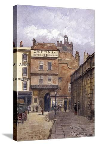 St Bartholomew's Priory, London, 1881-John Crowther-Stretched Canvas Print