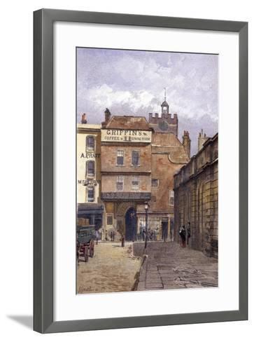 St Bartholomew's Priory, London, 1881-John Crowther-Framed Art Print
