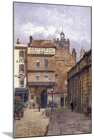 St Bartholomew's Priory, London, 1881-John Crowther-Mounted Giclee Print