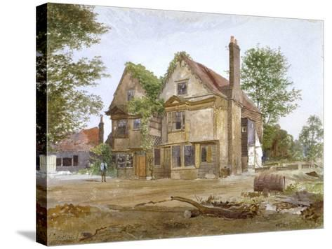 Front View of Basing Manor House, Peckham High Street, Camberwell, London, 1884-John Crowther-Stretched Canvas Print