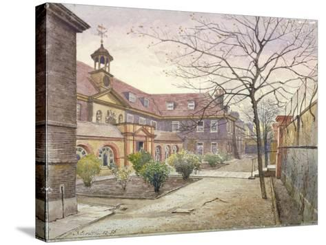View of Grey Coat Hospital, Greycoat Place, Westminster, London, 1886-John Crowther-Stretched Canvas Print