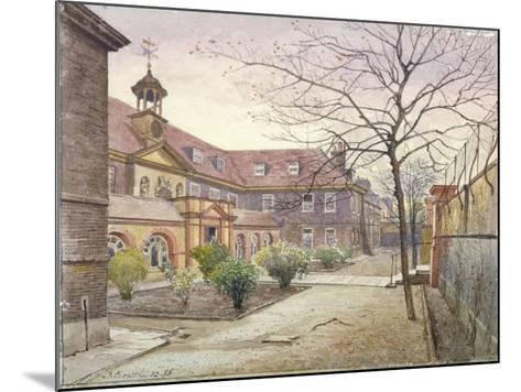 View of Grey Coat Hospital, Greycoat Place, Westminster, London, 1886-John Crowther-Mounted Giclee Print