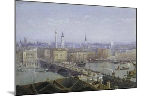 London Bridge and the City of London, 1892-John Crowther-Mounted Giclee Print