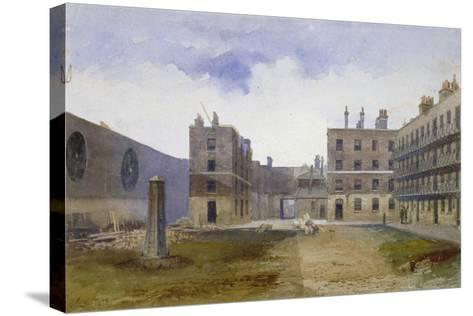 Queen's Bench Prison, Borough High Street, Southwark, London, 1879-John Crowther-Stretched Canvas Print