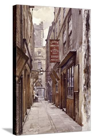 Botolph Alley, London, 1886-John Crowther-Stretched Canvas Print