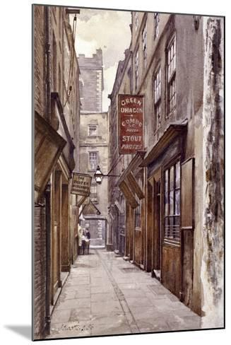 Botolph Alley, London, 1886-John Crowther-Mounted Giclee Print