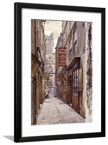 Botolph Alley, London, 1886-John Crowther-Framed Art Print