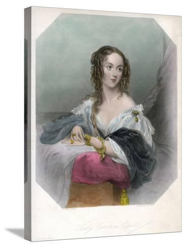 Lady Caroline Capel, C1800-1820-John Hayter-Stretched Canvas Print