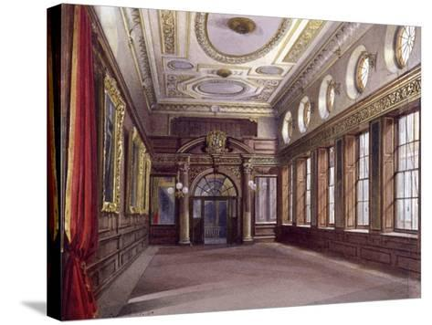 Interior of Tallow Chandlers' Hall, London, 1890-John Crowther-Stretched Canvas Print