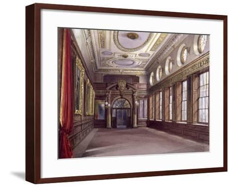 Interior of Tallow Chandlers' Hall, London, 1890-John Crowther-Framed Art Print