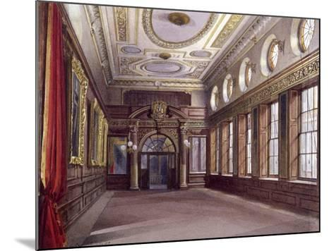 Interior of Tallow Chandlers' Hall, London, 1890-John Crowther-Mounted Giclee Print