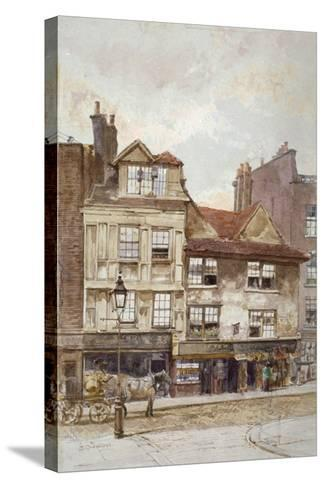 View of Nos 87-89 Drury Lane, Westminster, London, C1880-John Crowther-Stretched Canvas Print