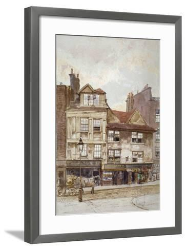 View of Nos 87-89 Drury Lane, Westminster, London, C1880-John Crowther-Framed Art Print