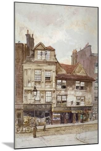 View of Nos 87-89 Drury Lane, Westminster, London, C1880-John Crowther-Mounted Giclee Print