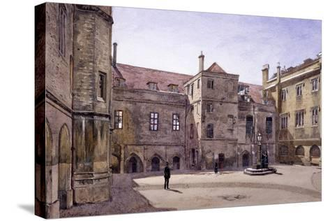 Christ's Hospital, London, 1881-John Crowther-Stretched Canvas Print