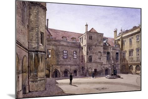 Christ's Hospital, London, 1881-John Crowther-Mounted Giclee Print