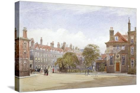 View of New Inn, Wych Street, Westminster, London, 1882-John Crowther-Stretched Canvas Print