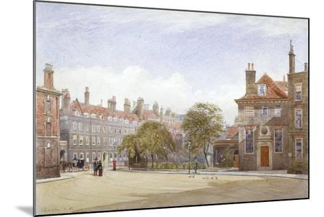 View of New Inn, Wych Street, Westminster, London, 1882-John Crowther-Mounted Giclee Print