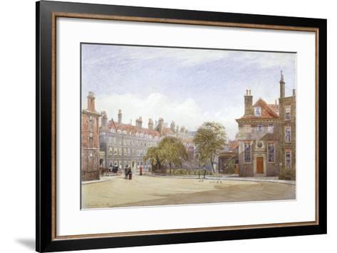 View of New Inn, Wych Street, Westminster, London, 1882-John Crowther-Framed Art Print