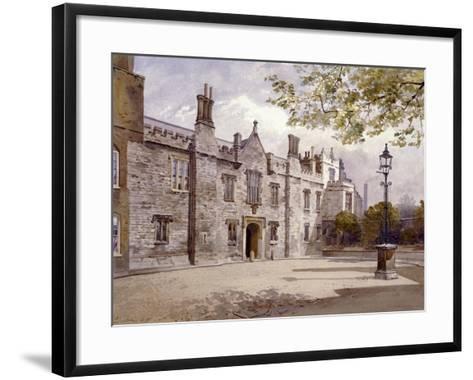 Master's Lodge, Charterhouse, London, 1885-John Crowther-Framed Art Print