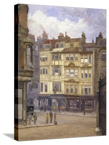 View of Nos 164-165 Strand, Westminster, London, 1880-John Crowther-Stretched Canvas Print