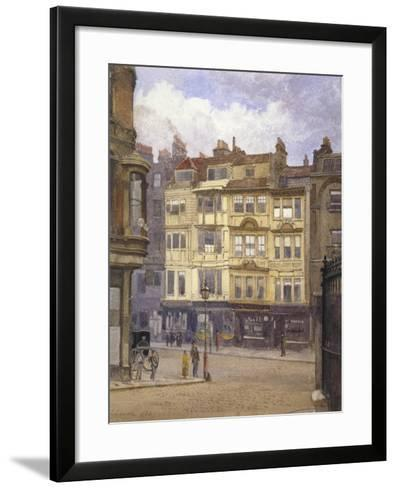 View of Nos 164-165 Strand, Westminster, London, 1880-John Crowther-Framed Art Print