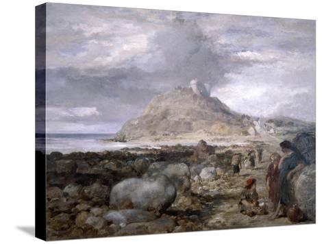 Criccieth Castle, Wales, 1878-John Gilbert-Stretched Canvas Print