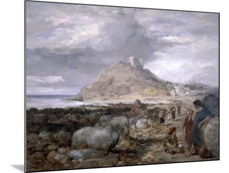 Criccieth Castle, Wales, 1878-John Gilbert-Mounted Giclee Print