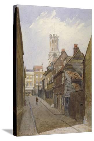 Chigwell Hill, Stepney, London, 1881-John Crowther-Stretched Canvas Print