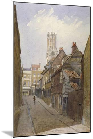 Chigwell Hill, Stepney, London, 1881-John Crowther-Mounted Giclee Print
