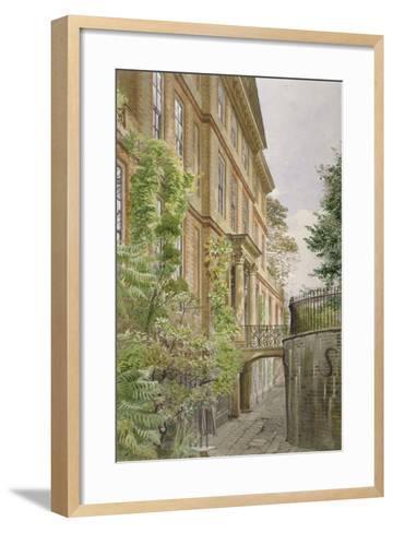 Wandsworth Manor House, St John's Hill, Wandsworth, London, 1887-John Crowther-Framed Art Print