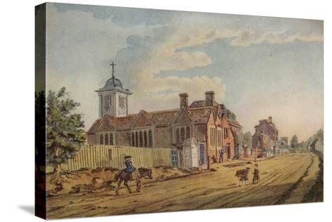 The Old Chapel, Kentish Town, (C177), 1925-John Inigo Richards-Stretched Canvas Print