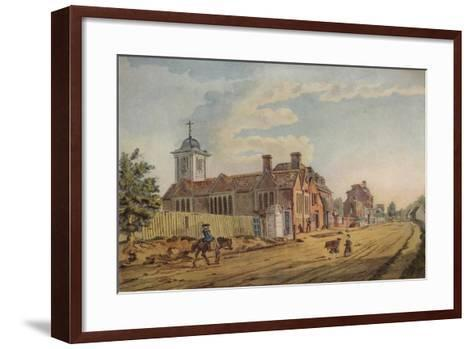 The Old Chapel, Kentish Town, (C177), 1925-John Inigo Richards-Framed Art Print