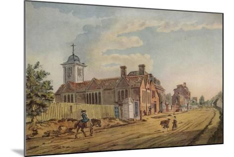 The Old Chapel, Kentish Town, (C177), 1925-John Inigo Richards-Mounted Giclee Print