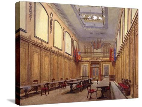 Interior of Skinners' Hall, London, 1890-John Crowther-Stretched Canvas Print