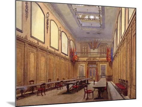 Interior of Skinners' Hall, London, 1890-John Crowther-Mounted Giclee Print
