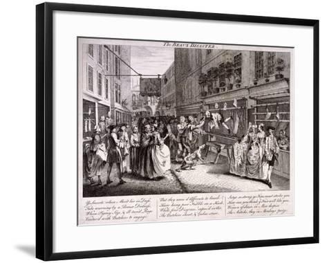 The Beaux Disaster, 1747-John June-Framed Art Print