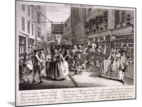 The Beaux Disaster, 1747-John June-Mounted Giclee Print